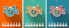 Free New Year 2014 Royalty Free Stock Photos - 35270028