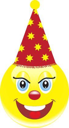 Free Smiley Clown Stock Photos - 35274543
