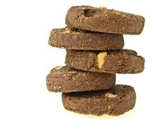 Free Zigzag Stack Cookie Royalty Free Stock Photo - 35274695