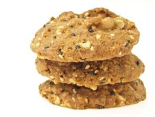 Free Triple Cookies Stock Photos - 35275623