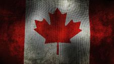 Free Canada Flag Royalty Free Stock Photo - 35277675