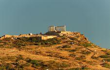 Free Cape Sounio, Attica, Greece Stock Photography - 35278542