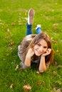 Free Girl Enjoying The Nature Stock Images - 35281474