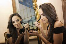 Free Make Up Royalty Free Stock Photos - 35280888
