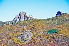 Free The Autumn Forest Lama Hill Royalty Free Stock Photos - 35287068