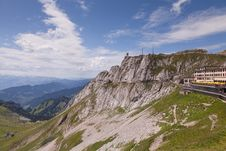 Free Top Of The Mt. Pilatus Royalty Free Stock Photography - 35287997