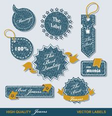 Free Vintage Styled Premium Quality  Labels Stock Photo - 35289590