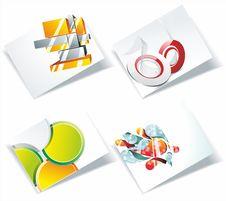 Free Modern Business-Card Stock Photos - 35289963