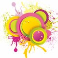 Free Abstract Splash Design,vector Illustration Royalty Free Stock Image - 35293246