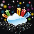 Free Abstract Cloud Background Royalty Free Stock Photography - 35294607