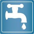 Free Simple Symbol - Tap Royalty Free Stock Image - 35295366