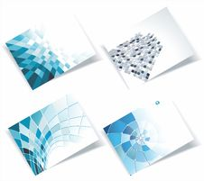 Free Personal Business Cards Set Royalty Free Stock Photo - 35290235
