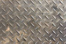 Free Old Diamond Plate Background Royalty Free Stock Photos - 35290868