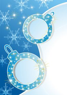 Vector Set Of Snowflakes Background Royalty Free Stock Photo