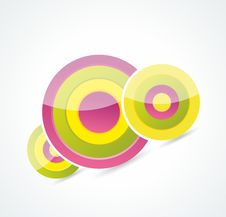 Free Abstract Colorful Circle Background Stock Photo - 35294150