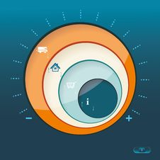 Free Business Abstract Circle Icon. Royalty Free Stock Photo - 35294405