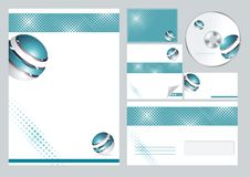 Free Corporate Identity Template Royalty Free Stock Photography - 35296427