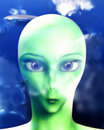 Free Alien Face 8 Stock Images - 3532134