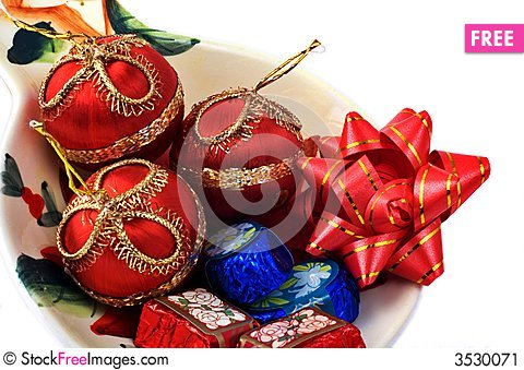 Free Christmas Chocolates Stock Image - 3530071