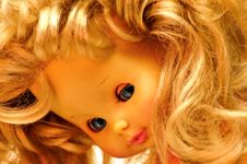 Free Blonde Vintage Children Doll 4 Stock Photos - 3531203