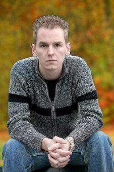 Free Autumn Boy Stock Image - 3531351