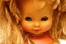 Free Blonde Vintage Doll 11 Royalty Free Stock Photo - 3531415