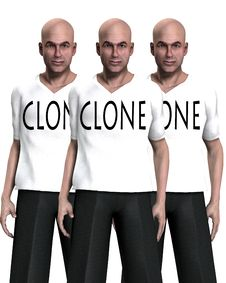 Free Cloned Stock Image - 3532041