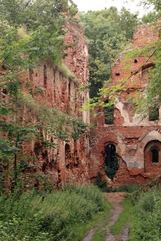 Free Wall Of Brick Castle Stock Image - 3533461