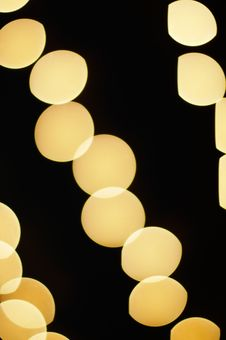 Free Christmas Lights Background Stock Photography - 3533662