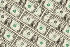 Free Dollar Bills Background Royalty Free Stock Images - 3534329