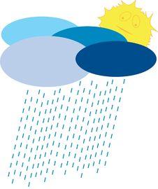 Free Rain And Sun Stock Photo - 3534590