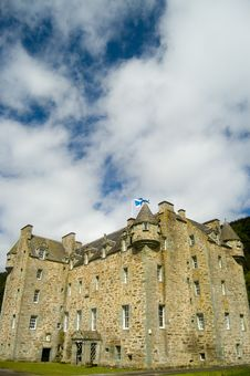 Free Castle And Clouds Royalty Free Stock Photography - 3535107