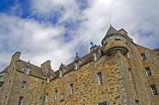 Free Close Up Of Scottish Castle Stock Photography - 3535172