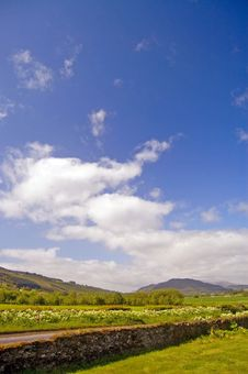 Free Clouds Over The Scottish Hills Royalty Free Stock Image - 3535176