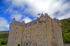 Free Portrait Of The Castle Royalty Free Stock Photos - 3535188