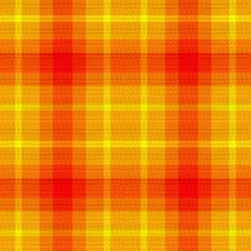 Free Orange Yellow Plaid Royalty Free Stock Images - 3535199