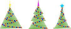 Simple Xmas Tree Royalty Free Stock Photo