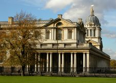 The Old Royal Naval College Stock Photo