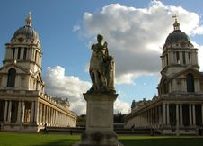 The Old Royal Naval College Stock Photos