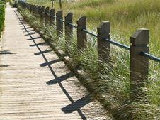 Free Grassy Boardwalk Stock Images - 3535934