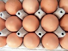 Free Eggs Brown Raw Food Pattern Royalty Free Stock Photos - 3536178