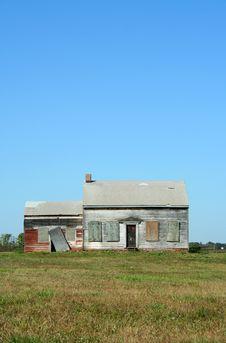 Free Old Abandoned House Royalty Free Stock Image - 3536436
