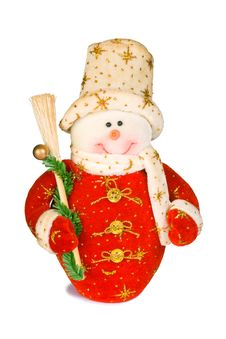 Free Toy Snowman Royalty Free Stock Photography - 3536477