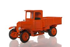 Red Toy Truck Royalty Free Stock Image