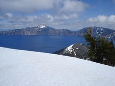 Free Crater Lake Stock Photography - 3536622