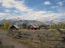 Teton Range Stock Photography