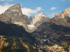 Free Teton Glacier Royalty Free Stock Photo - 3536835