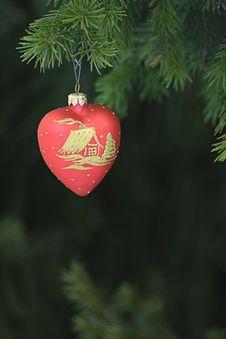 Free Christmas Tree Decoration 5 Royalty Free Stock Photo - 3537035
