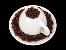 Free Upside Down Coffee Mug Royalty Free Stock Photo - 3537085