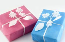 Free Two Gifts Stock Photos - 3537473